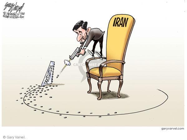 Cartoonist Gary Varvel  Gary Varvel's Editorial Cartoons 2011-02-16 revolution