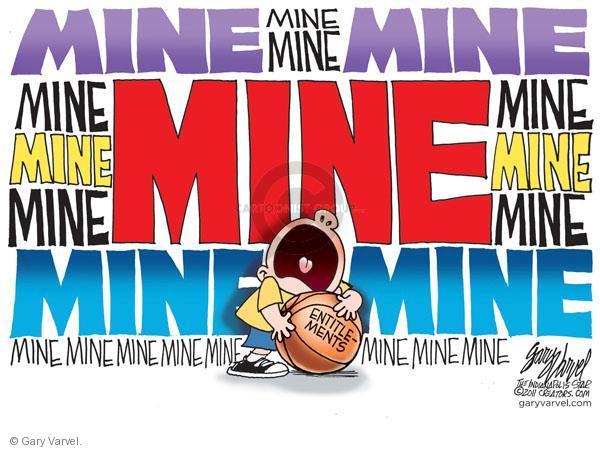 Cartoonist Gary Varvel  Gary Varvel's Editorial Cartoons 2011-02-22 social spending