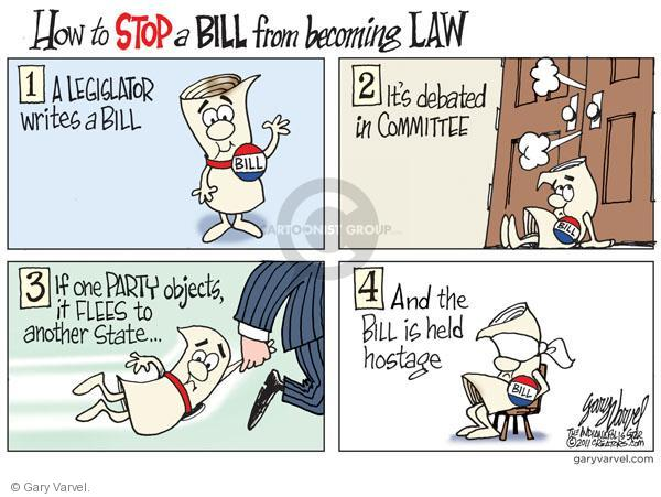 Cartoonist Gary Varvel  Gary Varvel's Editorial Cartoons 2011-03-06 states rights