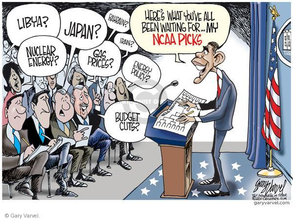 Cartoonist Gary Varvel  Gary Varvel's Editorial Cartoons 2011-03-16 economy