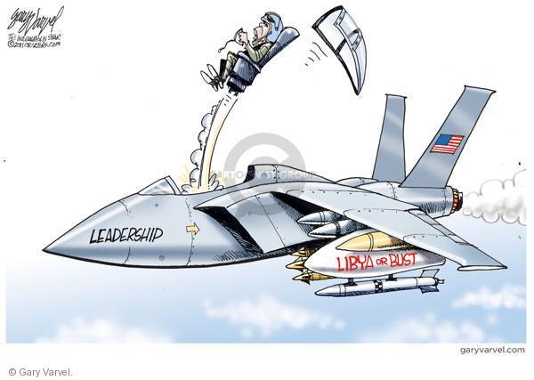 Leadership.  Libya or bust.