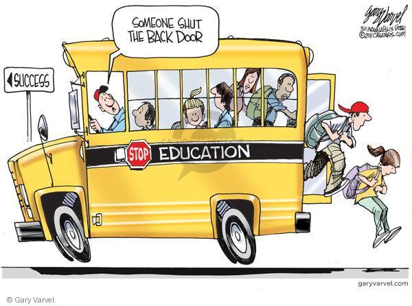 Gary Varvel  Gary Varvel's Editorial Cartoons 2011-03-27 bus