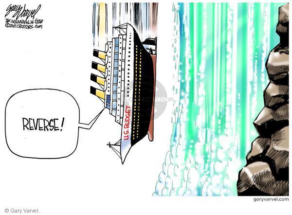 Gary Varvel  Gary Varvel's Editorial Cartoons 2011-04-06 federal budget