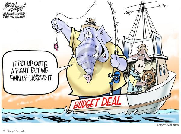 Gary Varvel  Gary Varvel's Editorial Cartoons 2011-04-12 federal budget