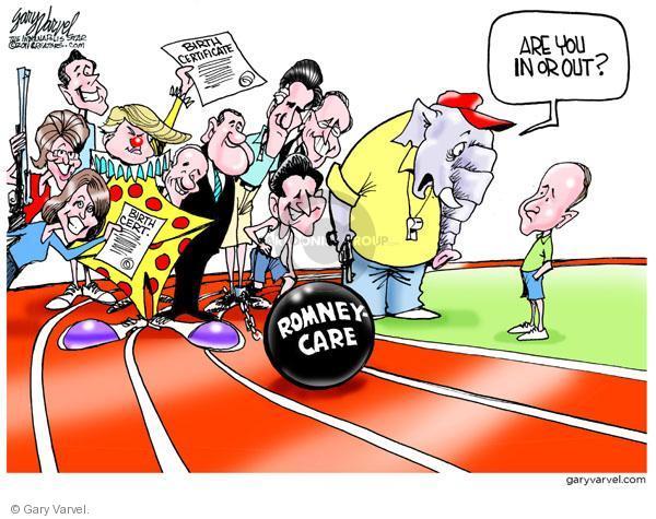 Cartoonist Gary Varvel  Gary Varvel's Editorial Cartoons 2011-04-20 gun rights