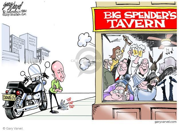 Gary Varvel  Gary Varvel's Editorial Cartoons 2011-05-10 federal budget