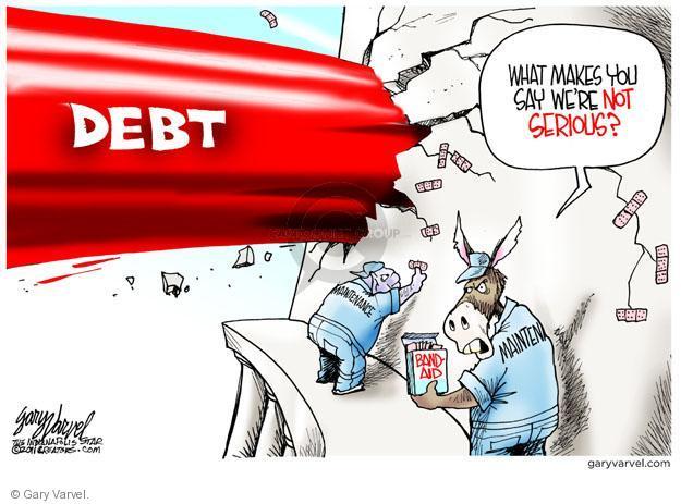Gary Varvel  Gary Varvel's Editorial Cartoons 2011-05-19 federal budget