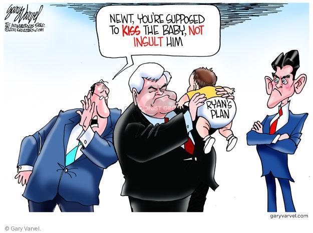 Gary Varvel  Gary Varvel's Editorial Cartoons 2011-05-18 federal budget