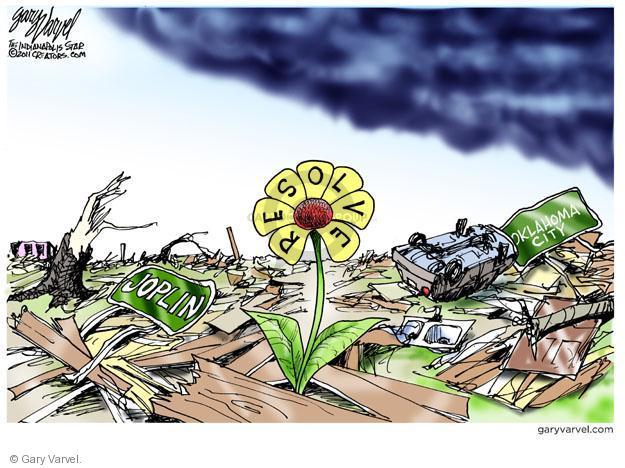 Cartoonist Gary Varvel  Gary Varvel's Editorial Cartoons 2011-05-26 growth