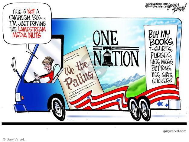 Gary Varvel  Gary Varvel's Editorial Cartoons 2011-06-01 bus