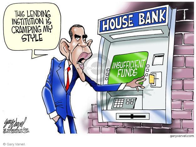 Cartoonist Gary Varvel  Gary Varvel's Editorial Cartoons 2011-06-02 Barack Obama Federal Budget