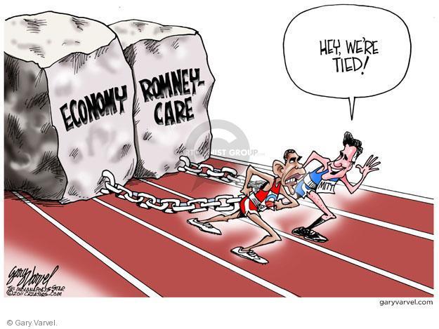 Cartoonist Gary Varvel  Gary Varvel's Editorial Cartoons 2011-06-08 Obama Romney
