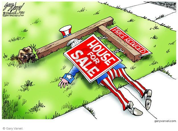 Cartoonist Gary Varvel  Gary Varvel's Editorial Cartoons 2011-06-22 recession