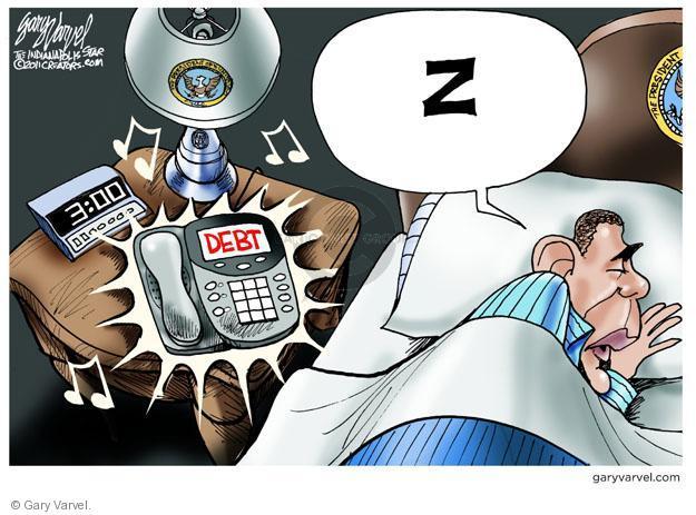 Cartoonist Gary Varvel  Gary Varvel's Editorial Cartoons 2011-06-23 Obama economy