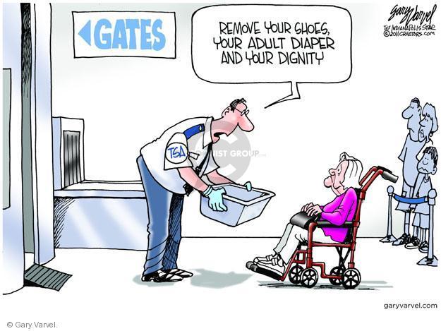 Cartoonist Gary Varvel  Gary Varvel's Editorial Cartoons 2011-06-29 airline