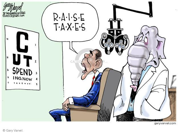 Cartoonist Gary Varvel  Gary Varvel's Editorial Cartoons 2011-06-30 Obama economy