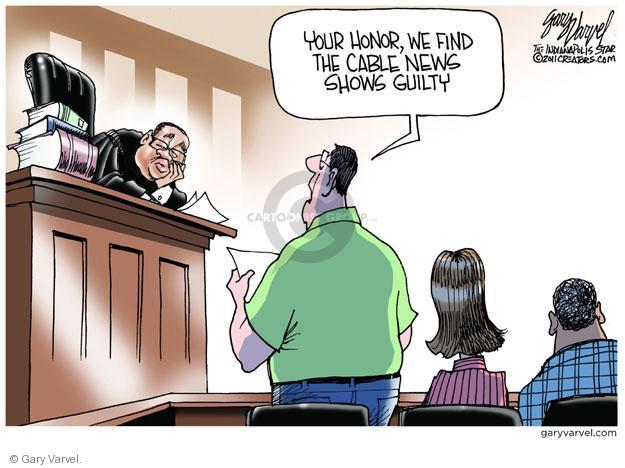 Gary Varvel  Gary Varvel's Editorial Cartoons 2011-07-06 verdict