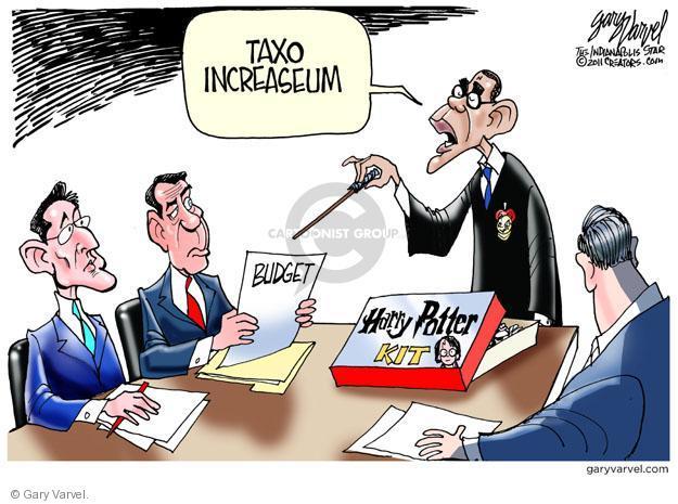Gary Varvel  Gary Varvel's Editorial Cartoons 2011-07-17 federal budget