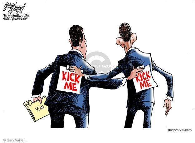 Cartoonist Gary Varvel  Gary Varvel's Editorial Cartoons 2011-07-27 John