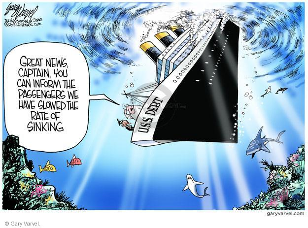 Gary Varvel  Gary Varvel's Editorial Cartoons 2011-08-03 federal budget