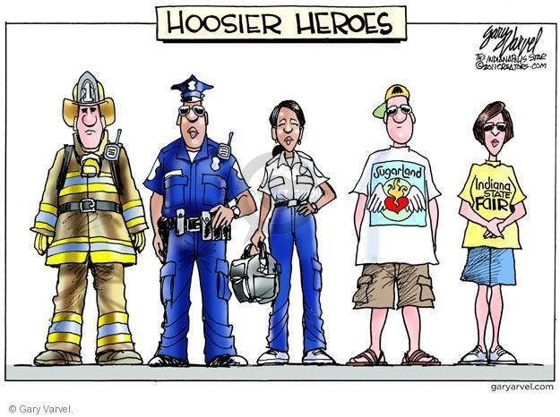 Cartoonist Gary Varvel  Gary Varvel's Editorial Cartoons 2011-08-17 nurse