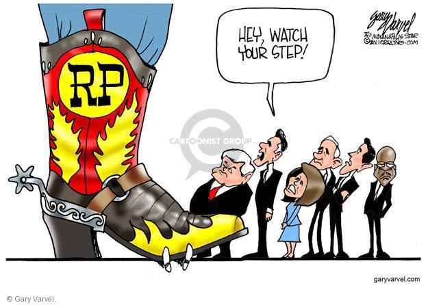 Gary Varvel  Gary Varvel's Editorial Cartoons 2011-08-18 Rick Santorum