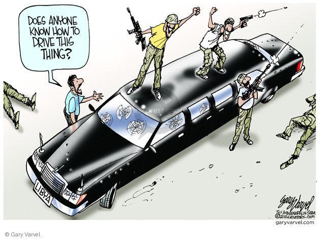 Cartoonist Gary Varvel  Gary Varvel's Editorial Cartoons 2011-08-27 revolution