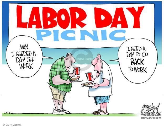 Cartoonist Gary Varvel  Gary Varvel's Editorial Cartoons 2011-09-05 back off