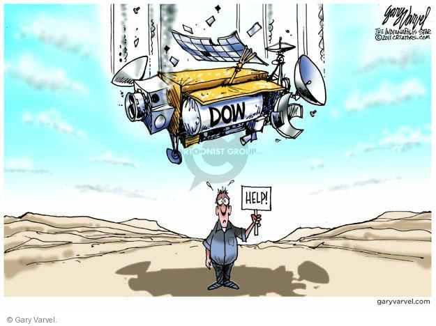 Gary Varvel  Gary Varvel's Editorial Cartoons 2011-09-23 stock market