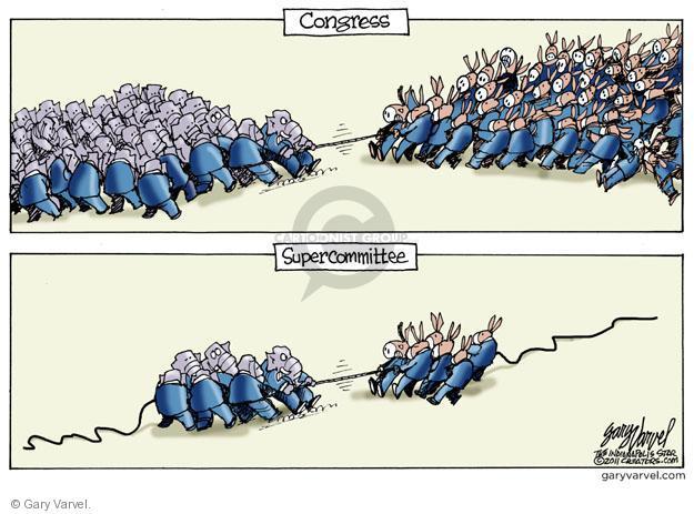 Cartoonist Gary Varvel  Gary Varvel's Editorial Cartoons 2011-10-11 Congress