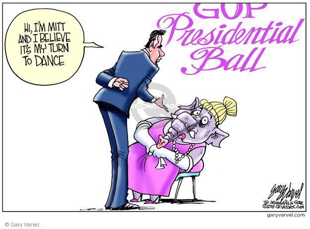 Cartoonist Gary Varvel  Gary Varvel's Editorial Cartoons 2011-10-13 2012 election