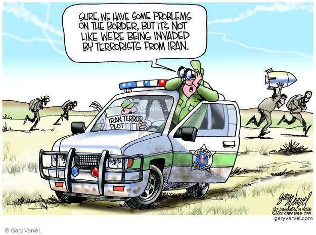 Cartoonist Gary Varvel  Gary Varvel's Editorial Cartoons 2011-10-14 terror plot
