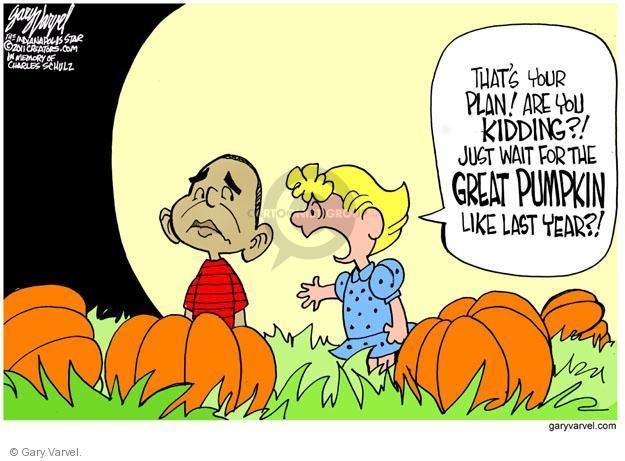 Cartoonist Gary Varvel  Gary Varvel's Editorial Cartoons 2011-10-17 Barack Obama