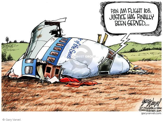 Cartoonist Gary Varvel  Gary Varvel's Editorial Cartoons 2011-10-21 retribution