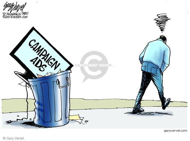 Cartoonist Gary Varvel  Gary Varvel's Editorial Cartoons 2011-10-23 2012 election