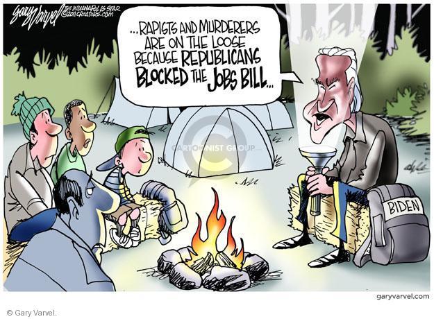 Gary Varvel  Gary Varvel's Editorial Cartoons 2011-10-24 Joe Biden