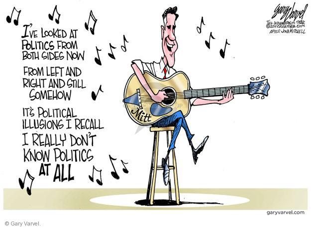 Cartoonist Gary Varvel  Gary Varvel's Editorial Cartoons 2011-10-27 2012 election