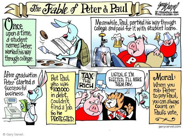 Cartoonist Gary Varvel  Gary Varvel's Editorial Cartoons 2011-10-28 Wall Street