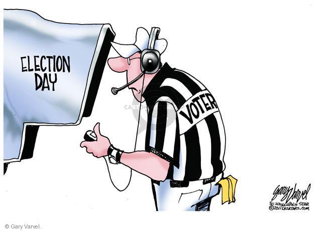 Cartoonist Gary Varvel  Gary Varvel's Editorial Cartoons 2011-10-31 2012 election