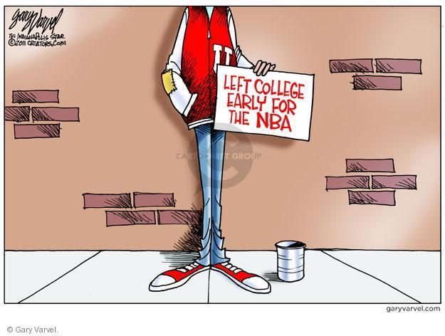Cartoonist Gary Varvel  Gary Varvel's Editorial Cartoons 2011-11-15 college education