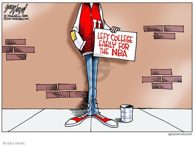 Gary Varvel  Gary Varvel's Editorial Cartoons 2011-11-15 unemployed