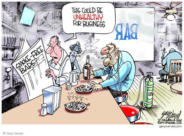 Gary Varvel  Gary Varvel's Editorial Cartoons 2011-11-17 unhealthy
