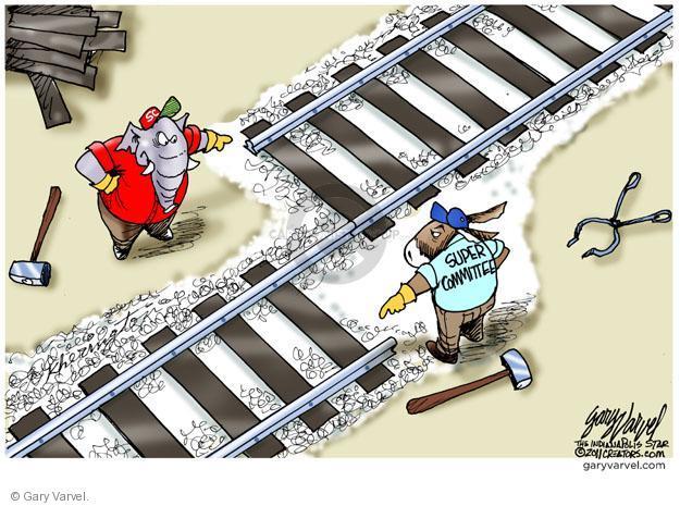 Cartoonist Gary Varvel  Gary Varvel's Editorial Cartoons 2011-11-21 Congress