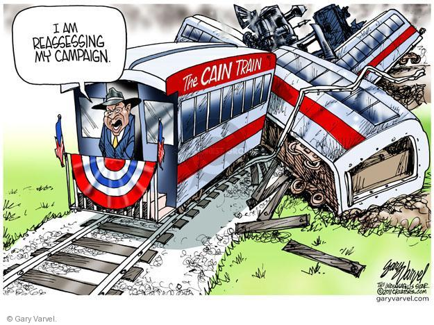 Cartoonist Gary Varvel  Gary Varvel's Editorial Cartoons 2011-11-30 2012 primary