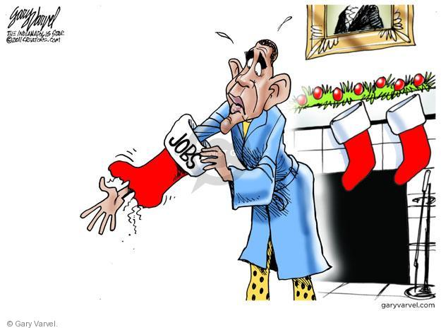 Cartoonist Gary Varvel  Gary Varvel's Editorial Cartoons 2011-12-20 Barack Obama