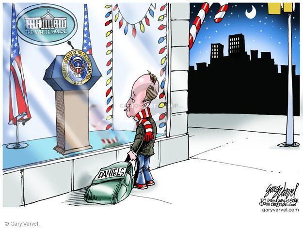 Cartoonist Gary Varvel  Gary Varvel's Editorial Cartoons 2011-12-22 American president