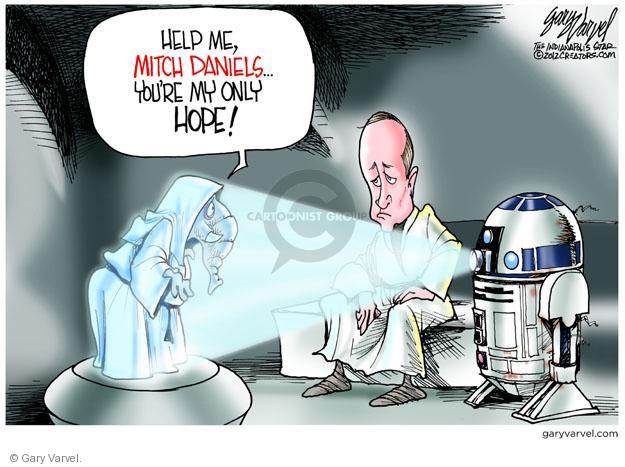 Cartoonist Gary Varvel  Gary Varvel's Editorial Cartoons 2012-01-26 2012 primary
