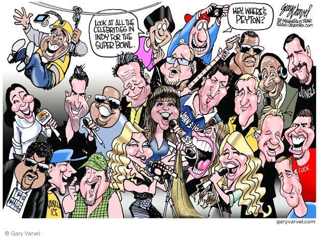 Cartoonist Gary Varvel  Gary Varvel's Editorial Cartoons 2012-02-04 John