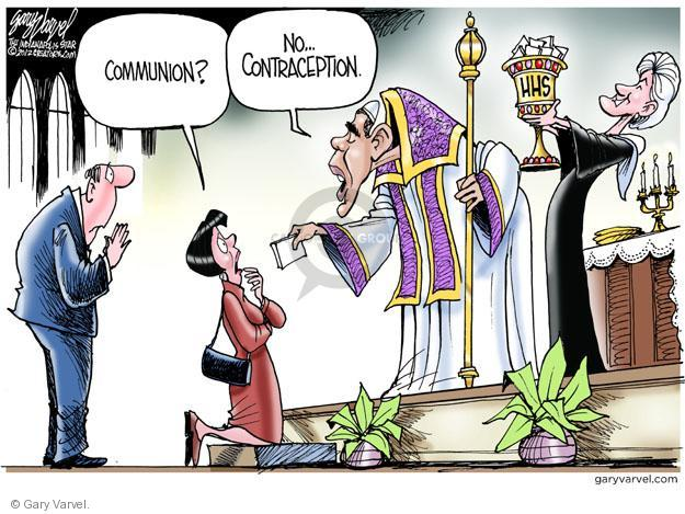 Cartoonist Gary Varvel  Gary Varvel's Editorial Cartoons 2012-02-10 church