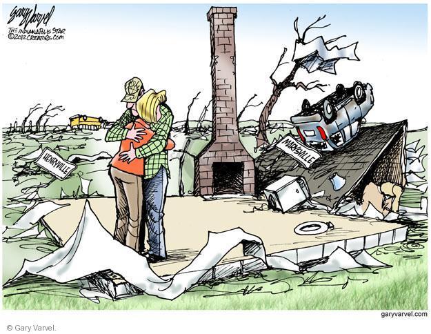 Cartoonist Gary Varvel  Gary Varvel's Editorial Cartoons 2012-03-04 house